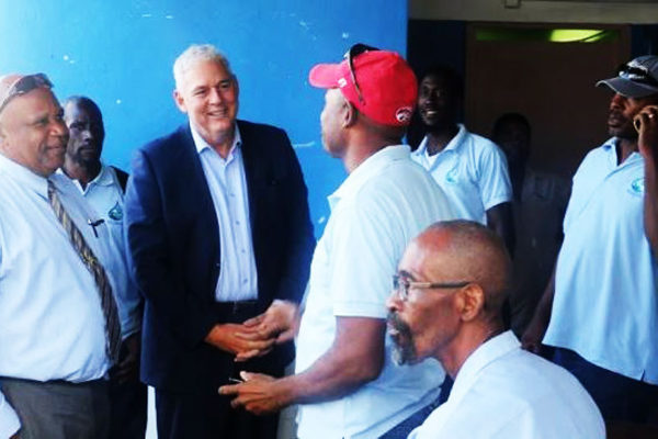 Image of PM with WASCO workers