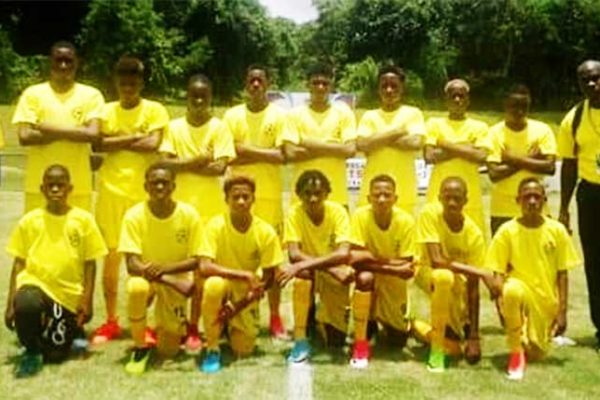 Image: Team Saint Lucia CFU Under-14 campions (TSLU)