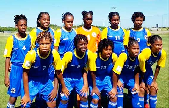 Image of National under 15 female team