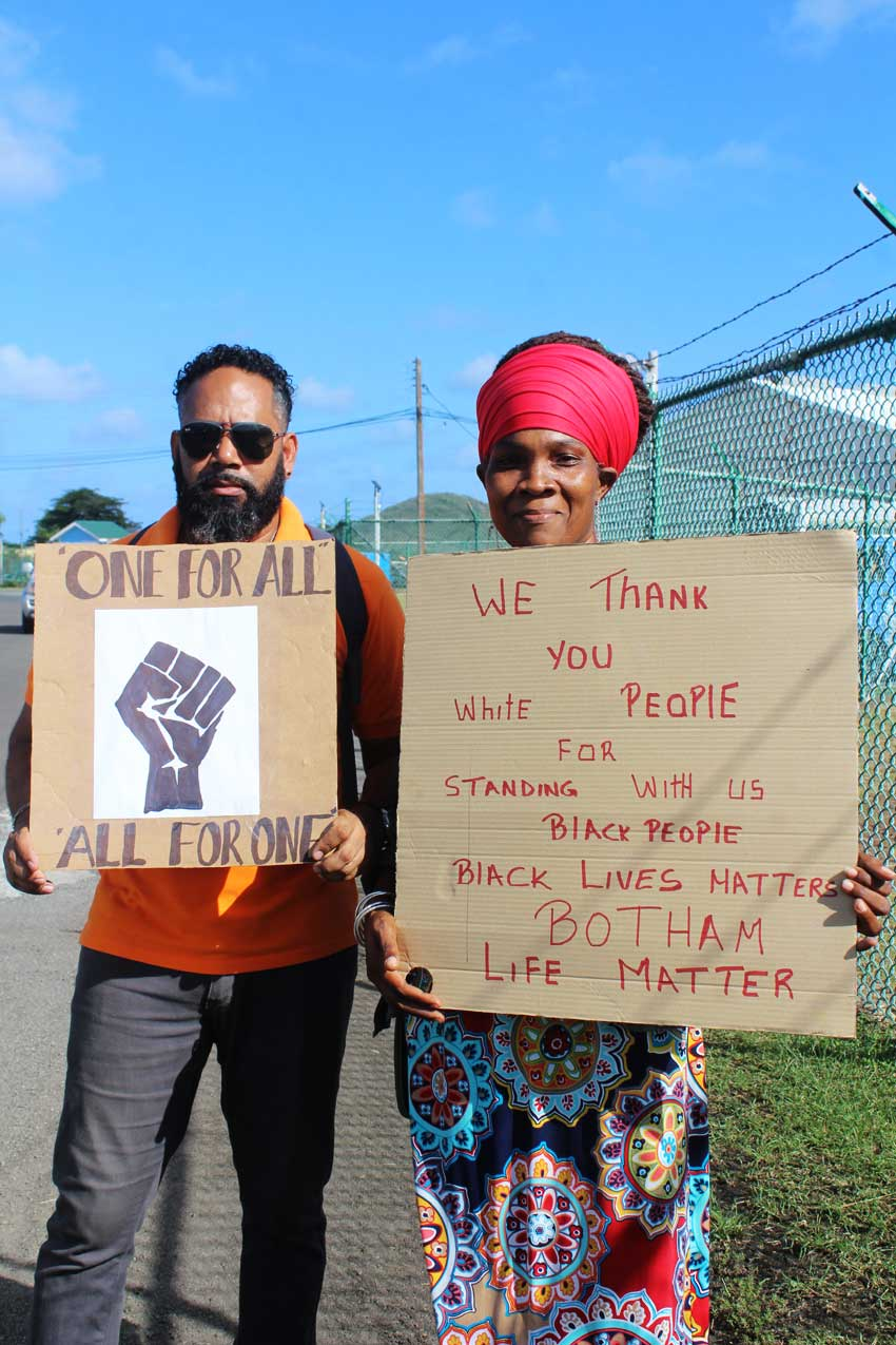 Image: A few words from supporters who Stand With Botham