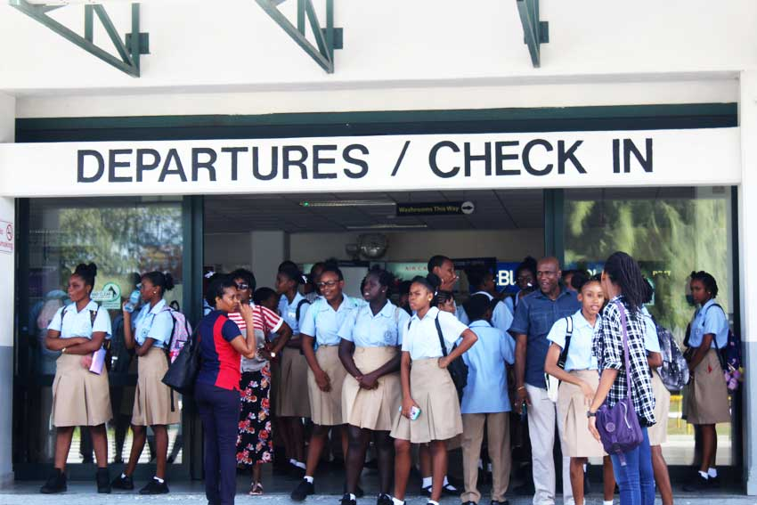 Image: Beanfield Secondary School students in solidarity