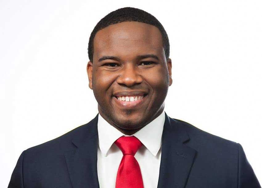 Image of a twenty-six year old Botham Shem Jean who was shot fatally by a police officer in 2018.