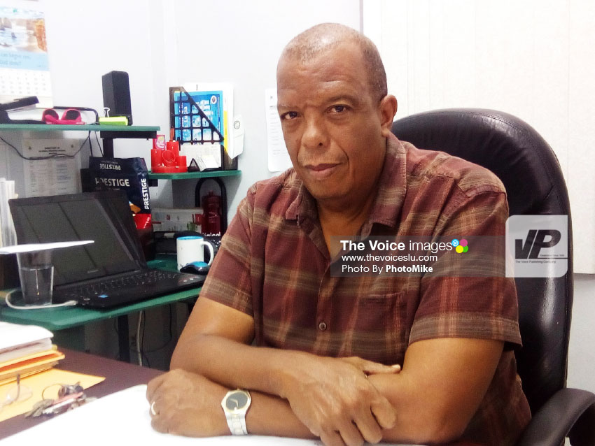 Image of CSA General Secretary Claud Paul. (Photo by PhotoMike)
