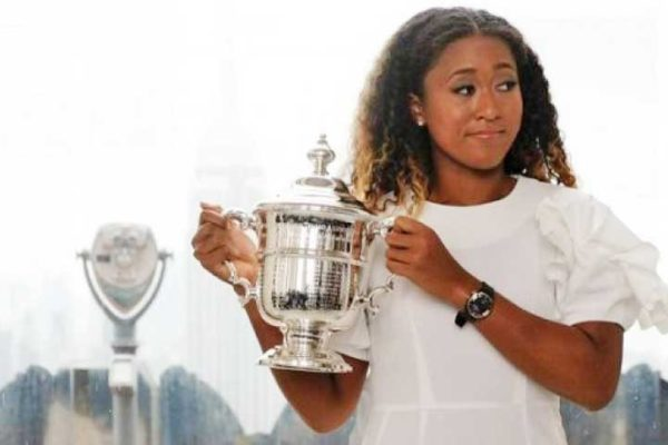 Image of Naomi Osaka, 20, winner of the Grand Slam Tennis Final