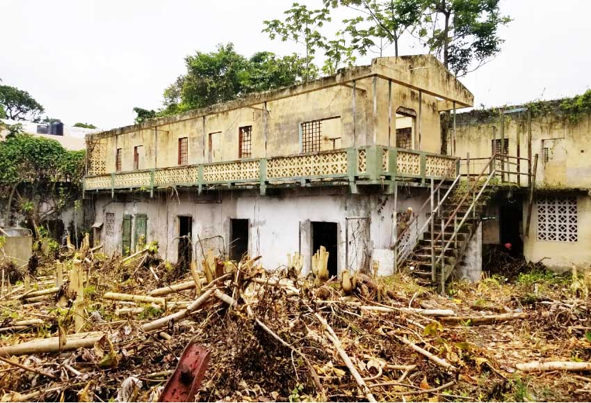 Image: The National Trust wants to preserve the old prison site.