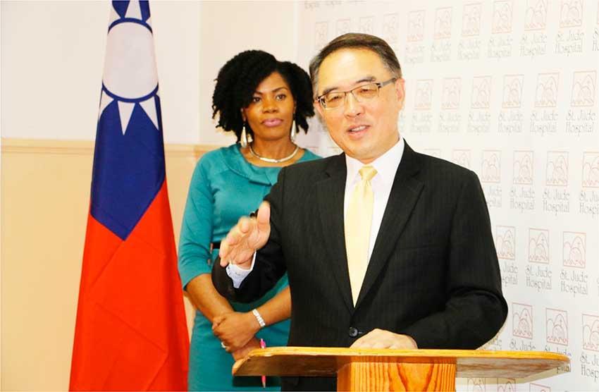 Image of H.E. Ambassador Douglas C.T. Shen