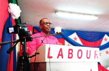 Image of Hon Philip J Pierre Political Leader of the Saint Lucia Labour Party