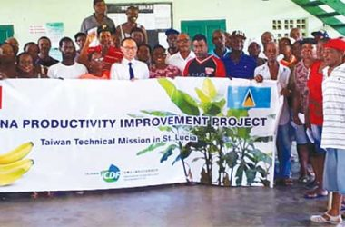 Image: Over 360 farmers attended the training event.