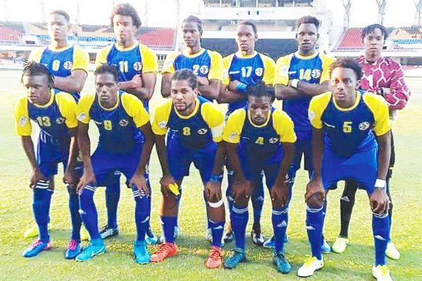 Image: Team Saint Lucia now turn their attention to play Haiti in Fort de France. (PHOTO: CONCACAF)