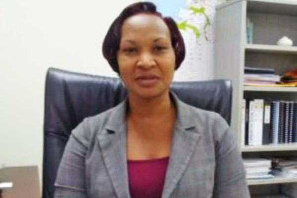 Image of Director of the National Emergency Management Organisation (NEMO), Velda Joseph.