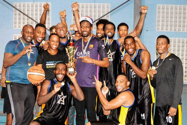 Image: CBL 2018 champions, Financial Services (Photo: Anthony De Beauville)