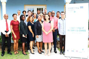 Image: Participants at the historic INTERREG Conference last week.