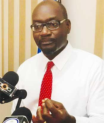 Image of SLP Chairman Moses Jn. Baptiste