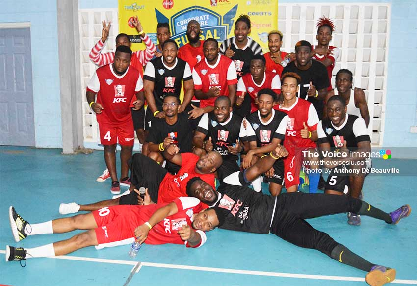 Image: Some of Saint Lucia leading artistes and radio personalities will be on centre court this evening in a revenge match at the BIPF. (PHOTO: Anthony De Beauville)