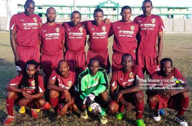 Image of Soufriere Gold Cup Champions, set to play Era Masters (Photo: Anthony De Beauville)