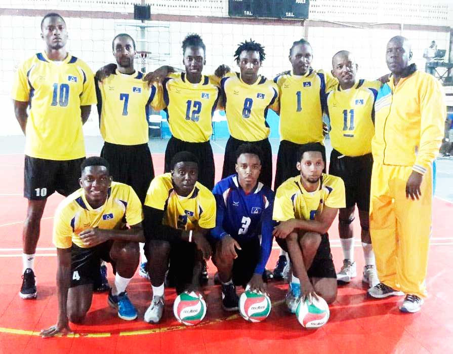 Image of Team Saint Lucia (Photo: ECVA)