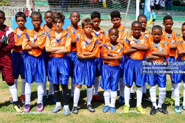 Image: Valley Soccer all set to play Flow Lancers FC in the U11 finals (Photo: Anthony De Beauville)