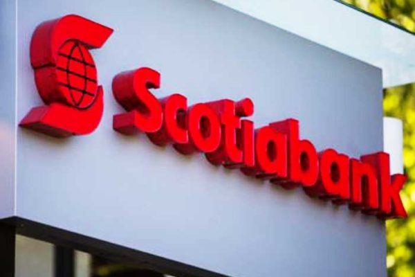 Image of a Scotiabank sign