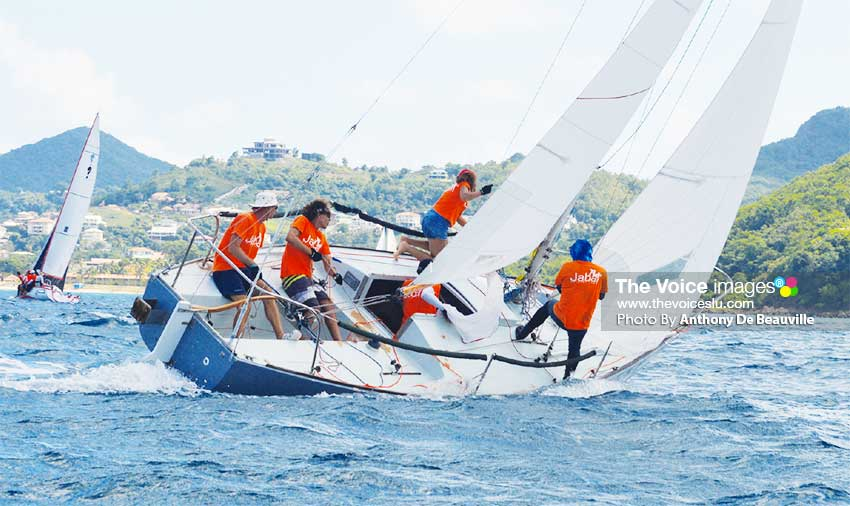 Image: Jabal another of Saint Lucia's competing J24. (PHOTO: Anthony De Beauville)