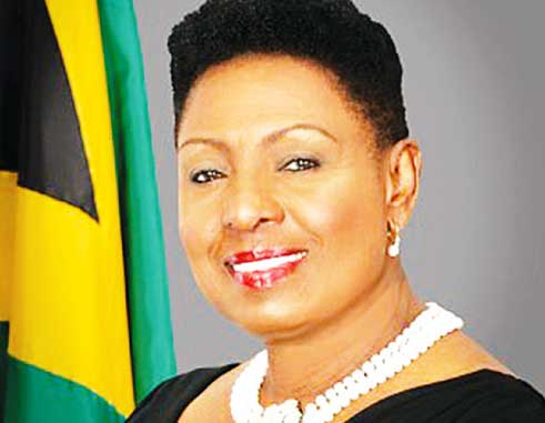 Image of Jamaica's Sports Minister Olivia Grange
