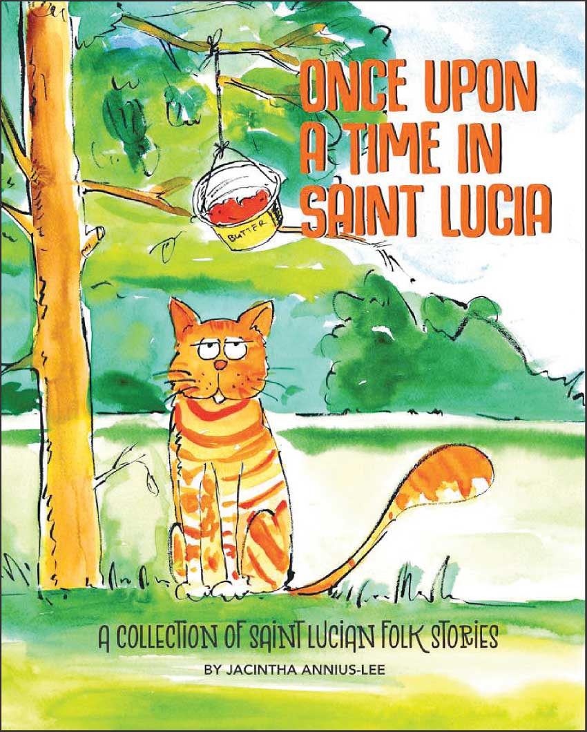 Image of Once Upon A Time In Saint Lucia book