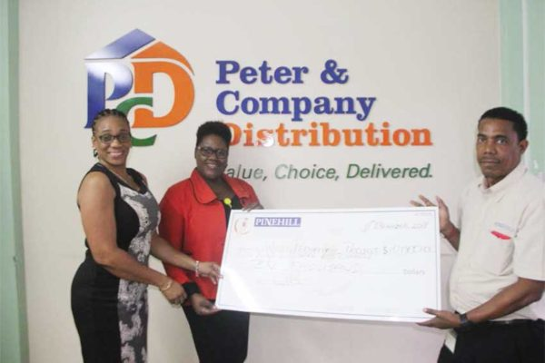 Image of Pinehill Donating to World Pediatric Project