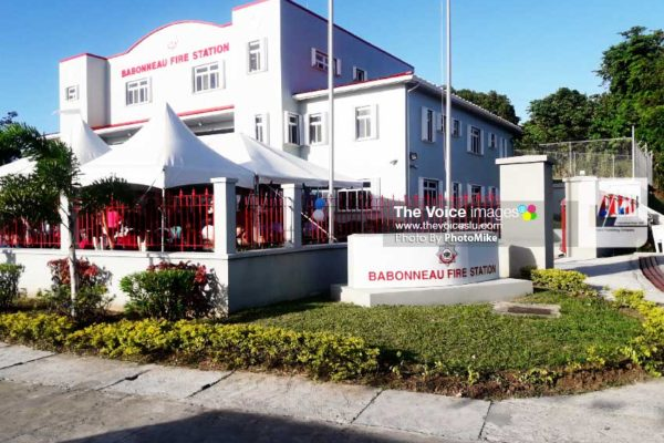 Image of the newly-commissioned Babonneau Fire Station. (PHOTO: PhotoMike)