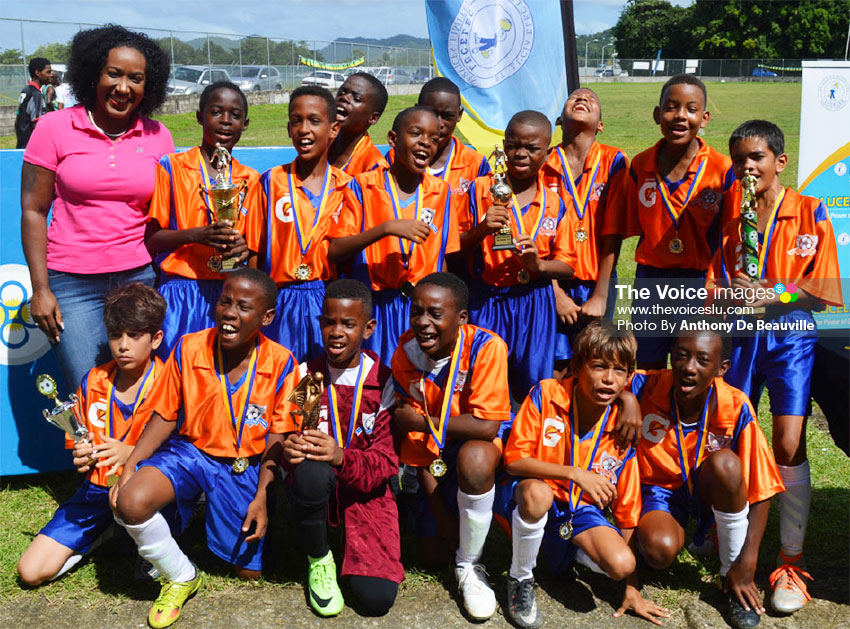 Image: Under 13 champions, Valley Soccer Club. (PHOTO: Anthony De Beauville)