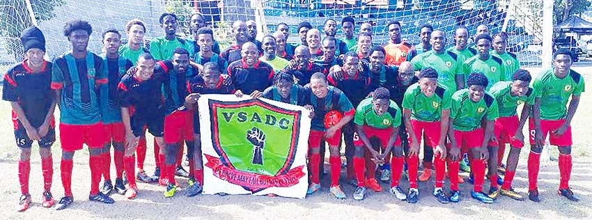 Image: VSADC three generations of players, U21, Senior and Veteran teams. (PHOTO: VSADC)