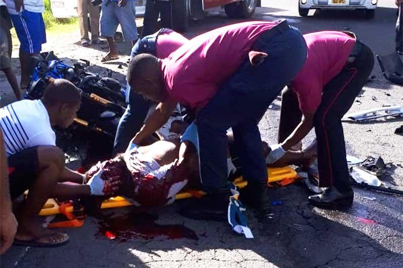Image of Motorcycle Crash