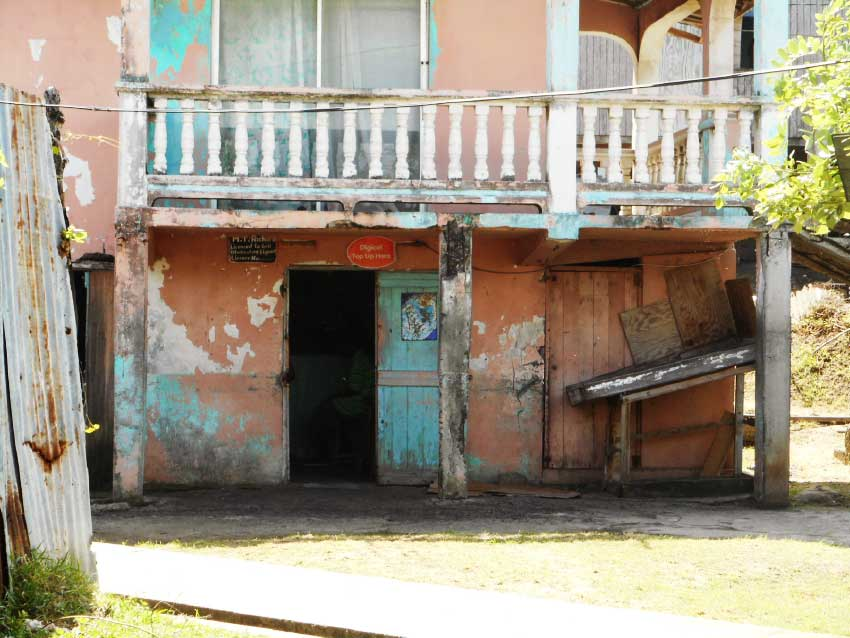 Image: The popular Bruceville hangout where the latest victim's life was snuffed-out with a knife. (PHOTO: Kingsley Emmanuel)