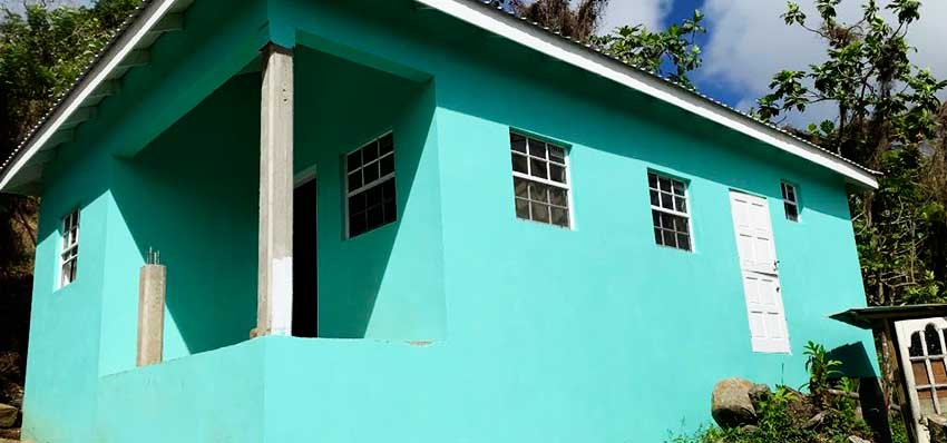 Image of outside home after Digicel full home makeover