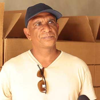 Image of Kerwin Samuel - Sea Moss Farmer and Exporter