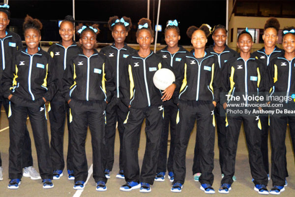 Image: Members of the National Under-16 team who finished second in the Jean Pierre Caribbean Youth Netball Championship in 2018. (PHOTO: Anthony De Deauville)