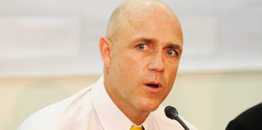Image of West Indies coach Richard Pybus