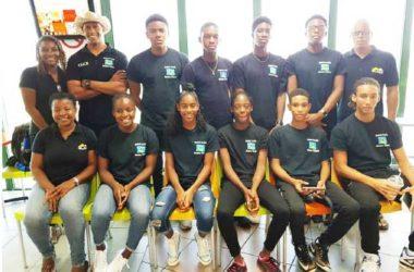 Image of Saint Lucia CARIFTA team for 2018