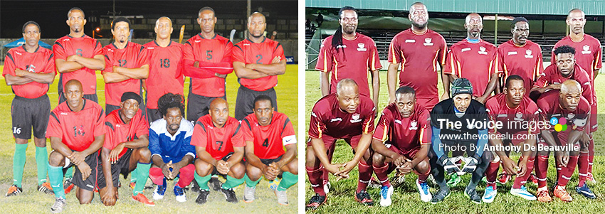 Image: (L-R) VSADC and Gros Islet. (PHOTO: Anthony De Beauville)
