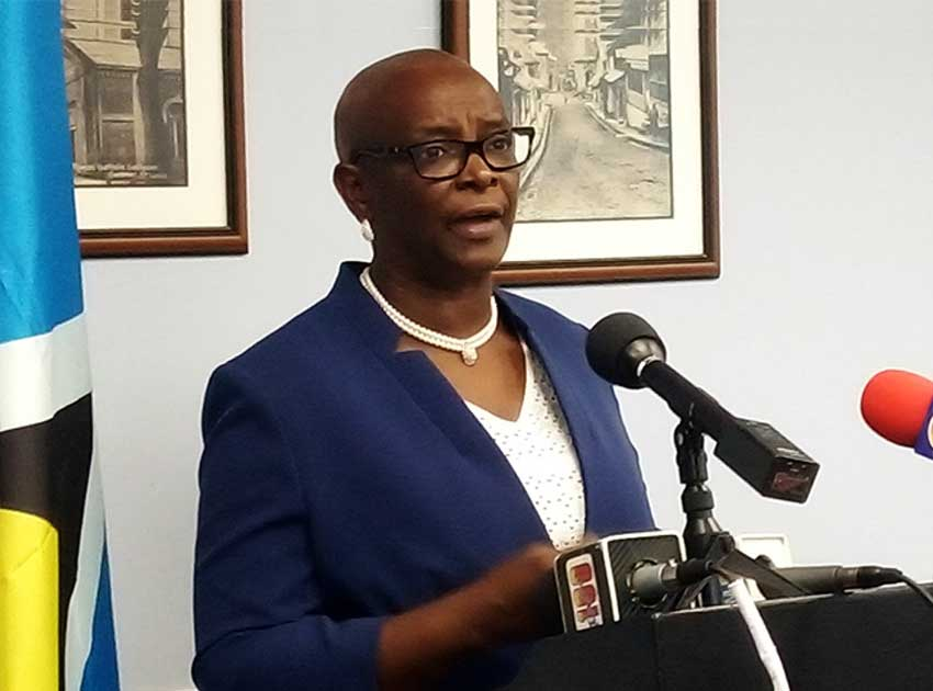 Image of Culture and Creative Industries Minister, Senator Fortuna Belrose