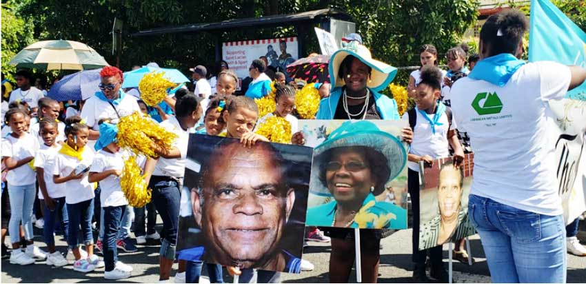 Image: Honouring cultural icons on Saint Lucia's Anniversary of Independence.
