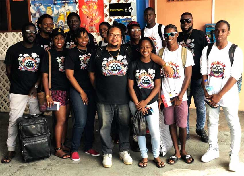 Image: The Pantime Steel Orchestra will travel to Dominica next month.