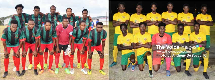 Image: VSADC (Central Castries) will take on Up Town (Vieux Fort) in North versus South clash at the Marchand Ground (Photo: Anthony De Beauville)