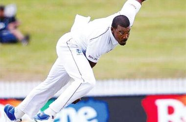 Image of Windies fast bowler Shannon Gabriel