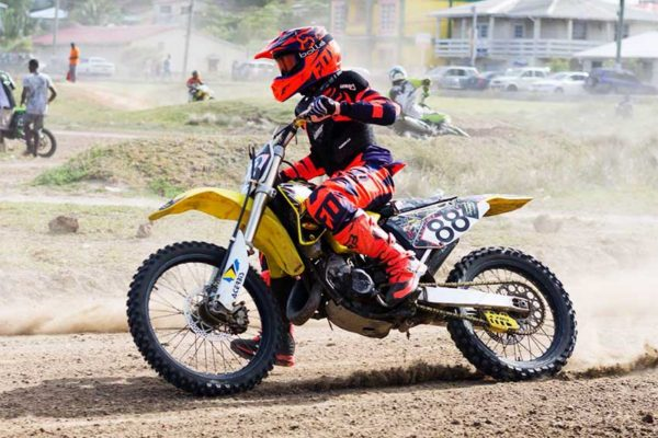 Image of Newbie on the competitive circuit, Amir Surage.