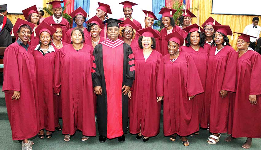 Image of Bethel Tabernacle's School of Ministry Graduation.