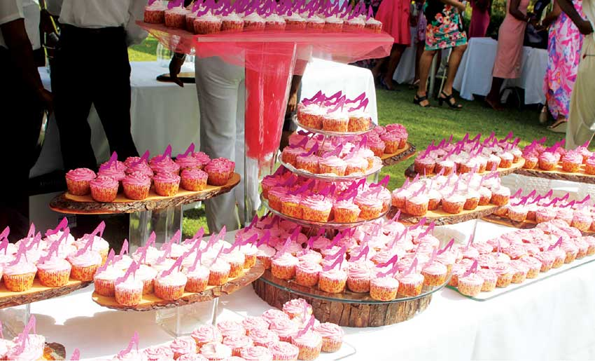 Image: Cupcakes were in abundance.
