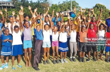 Image: Dennery Infant/ Primary celebrate. (PHOTO: Anthony De Beauville)