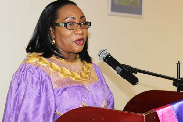 Image of Flavia Cherry, Executive Vice President of the Saint Lucia Small Business Association.