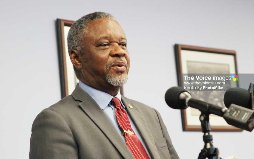 Image of Home Affairs Minister Senator Hermangild Francis (PHOTO: PhotoMike]