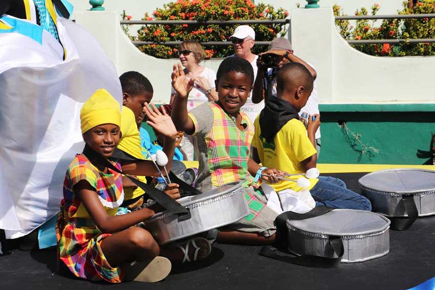 Image: Saint Lucians and foreigners young and old participated in the celebration.