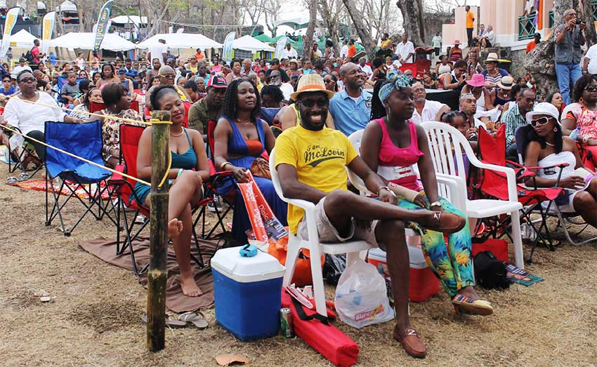 Image of an audience at a Jazz Festival